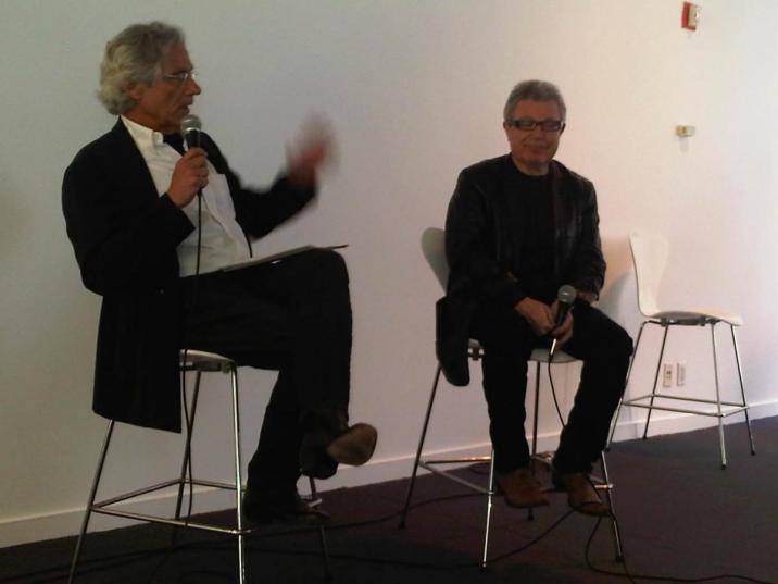 Mark C. Taylor and Daniel Libeskind